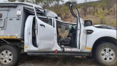 In diesem Fahrzeug saß der Schweizer, als es zu dem tragischen Unglück kam. (Bild: twitter.com)