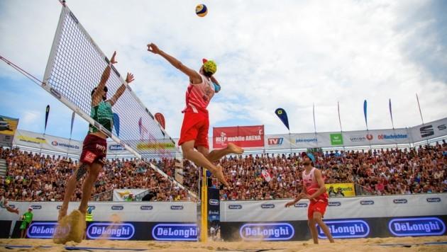 Philipp Waller (im Angriff) kämpft ab heute in Mexiko um wichtige Punkte für die Olympia-Quali. (Bild: Gert Nepel)