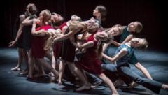 Die OÖ Tanzakademie tritt im Landestheater Linz auf. (Bild: Richard Kirchner)