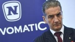 Novomatic-Konzernchef Harald Neumann (Bild: APA/HERBERT-PFARRHOFER)