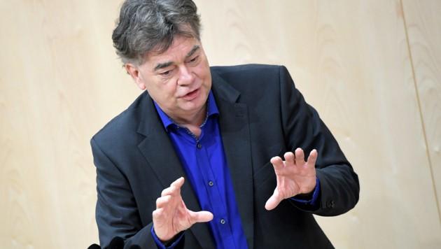 Grünen-Chef Werner Kogler (Bild: APA/ROLAND SCHLAGER)