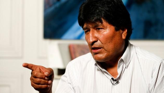 Evo Morales (Bild: AP)
