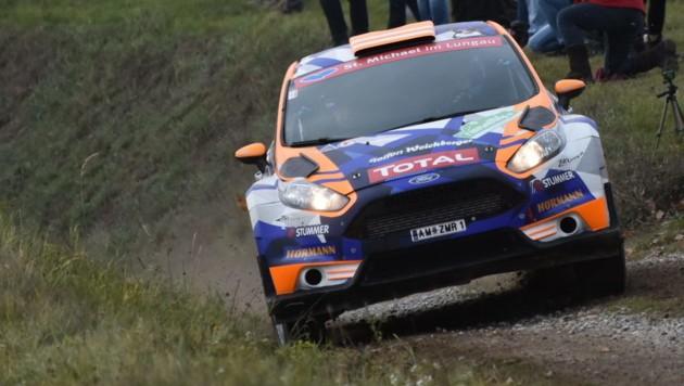 Hermann Neubauer im Ford Fiesta (Bild: HARALD ILLMER - HIFOTO.AT)