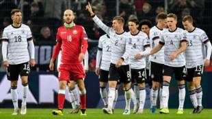 Der Jubel der Deutschen (Bild: Associated Press)