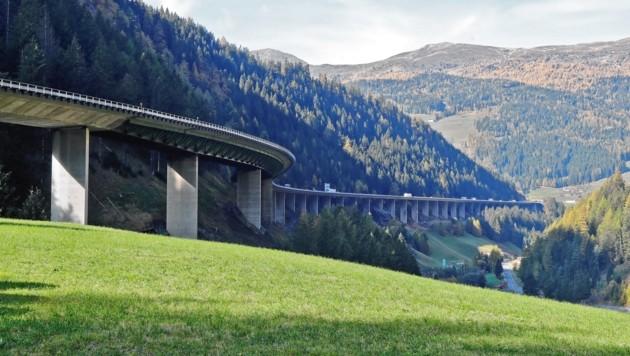 Die Luegbrücke in Tirol. (Bild: Christof Birbaumer, Archivbild)