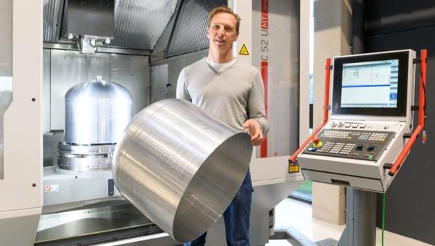 Dieter Grebner gründete vor zwölf Jahren Peak Technology. (Bild: Simlinger/Peak Technology)