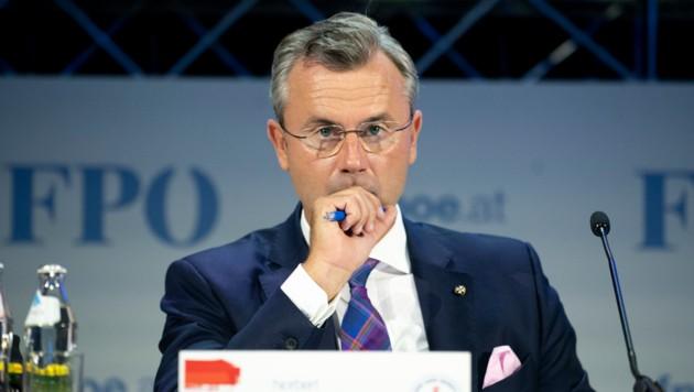 FPÖ-Chef Hofer (Bild: AFP)