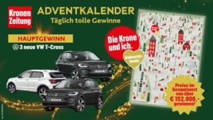 (Bild: Kronen Zeitung, krone.at-Grafik, VW)