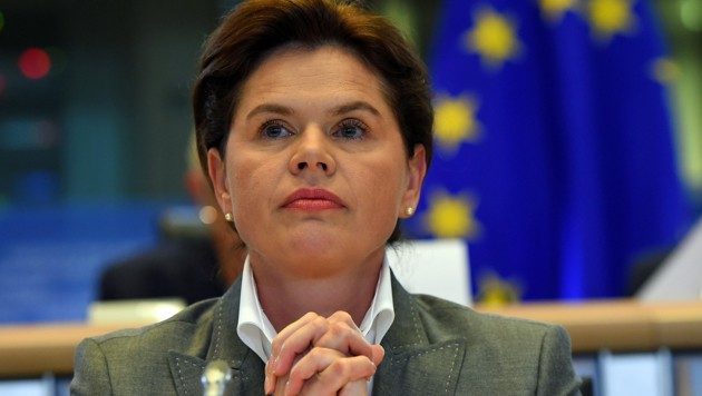 SAB-Parteichefin Alenka Bratusek (Bild: EMMANUEL DUNAND/AFP)
