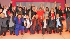Massivhaus Favoriten feierte im Studio 44 der Österreichischen Lotterien den ersten Erfolg eines Frauenteams. Und kehrt damit im Frühjahr für das Duell um den Gesamtsieg zurück. (Bild: Gerhard Gradwohl)