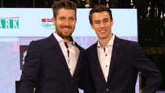 Marcel Hirscher (li.) und Stefan Kraft (Bild: GEPA)