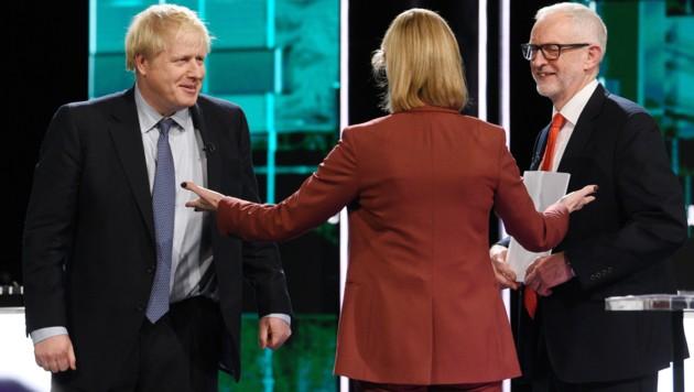 Boris Johnson (links) und Jeremy Corbyn (Bild: AFP)