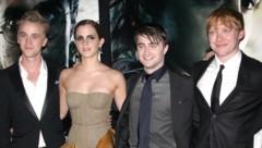 Rupert Grint, Daniel Radcliffe, Tom Felton, Emma Watson (Bild: www.pps.at)