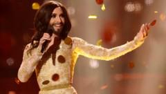 2014 siegte Conchita Wurst für Österreich im Eurovision Song Contest. (Bild: AFP)