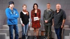 Von links: Jochen Stadler, Ursula Aigner, Katia Wagner, Michael Bauer, Bernhard Kainz (Bild: zwefo)