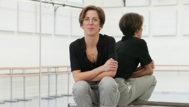 Der Ballettsaal ist für Núria Giménez Villarroya wie ein zweites Zuhause. Hier verbringt sie täglich mehrere Stunden. (Bild: LiveBild)