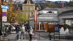 """Bad Ischl - Kulturhauptstadt 2024 - das Veranstaltungszentrum """"Trinkhalle"""" (Bild: Klemens Fellner)"""