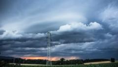 Sturmfront (Symbolbild aus 2014) (Bild: Stefan Pamminger)