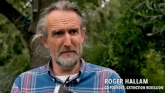 """Roger Hallam, Mitbegründer von """"Extinction Rebellion"""" (Bild: YouTube.com)"""