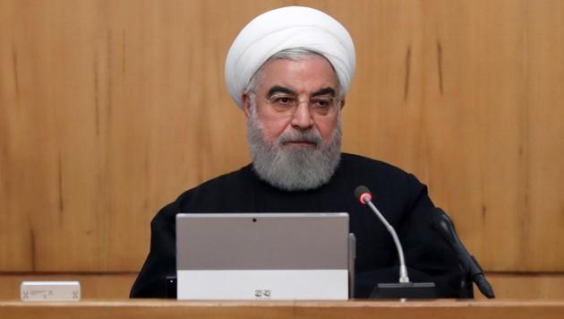 Hassan Rouhani (Bild: AP)