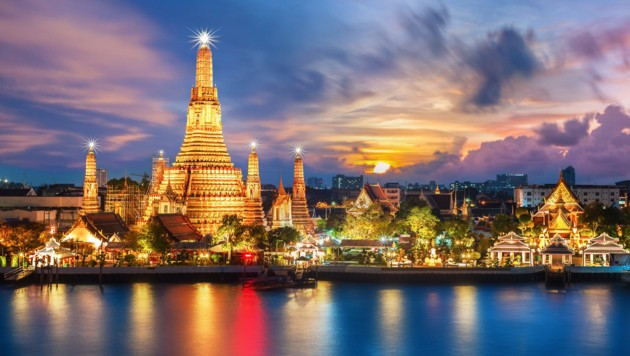 Wat Arun in Bangkok (Bild: ©sahachat - stock.adobe.com)