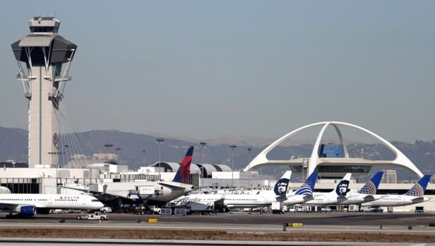 Flugzeuge am Los Angeles International Airport (Bild: AP)
