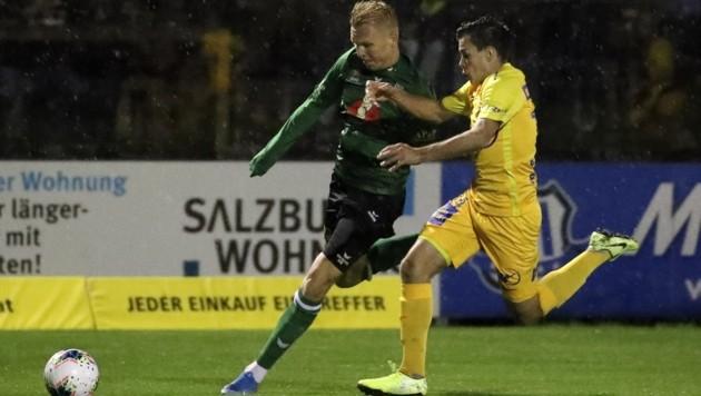 Josef Weberbauer (re.) spielt demnächst bei der Wiener Austria vor. (Bild: Tröster Andreas)