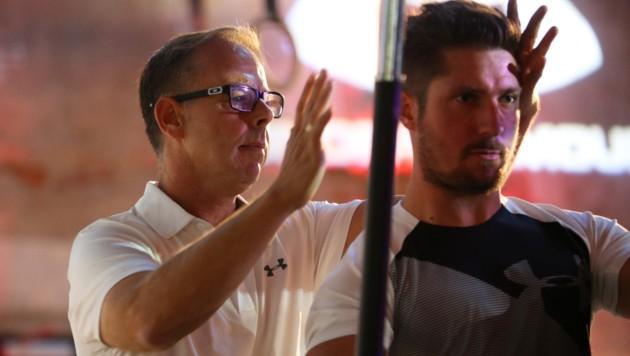Gernot Schweizer (li.) formte bereits Marcel Hirscher zu einem Topathleten. Auch Lukas Neumayer traut er extrem viel zu. (Bild: GEPA pictures)