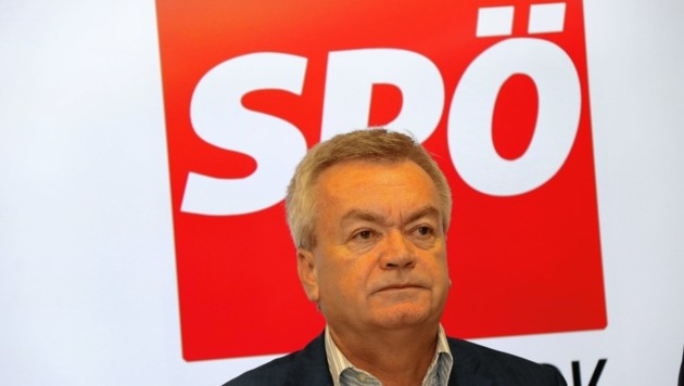 SPÖ-Chef Anton Lang: 1700 Euro Mindestlohn! (Bild: Christian Jauschowetz)