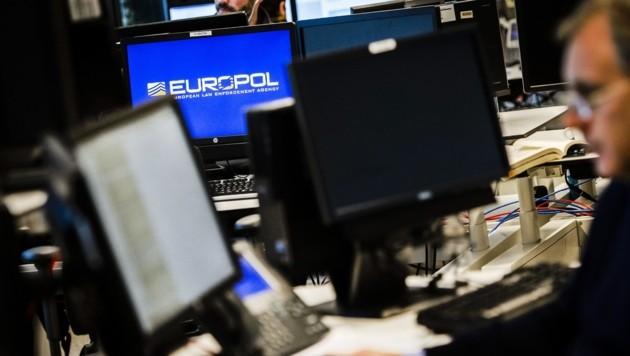 Die Europol-Zentrale in Den Haag (Bild: AFP)