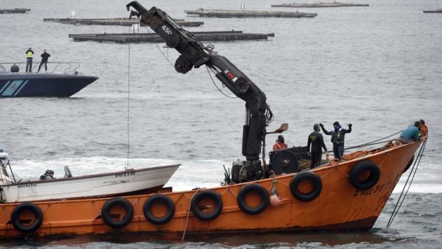 Bisher galten die Drogen-U-Boote als eine Legende. Nun hat die spanische Polizei erstmals einen Unterwasser-Transport abgefangen.