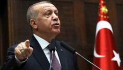 Der türkische Präsident Recep Tayyip Erdogan (Bild: AP)