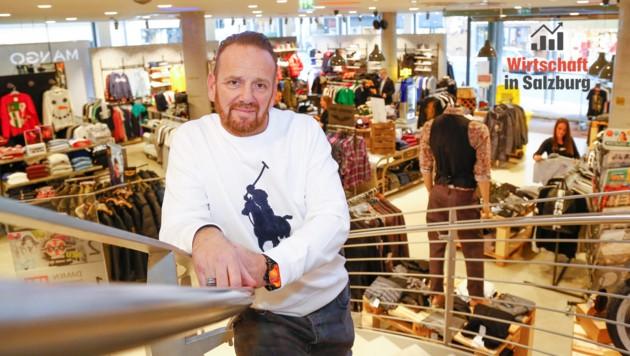 Bernhard Adelsberger muss sich für den Kundensturm diesen Freitag wohl warm anziehen (Bild: GERHARD SCHIEL)