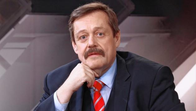 Physiker Werner Gruber (Bild: zwefo)