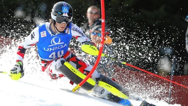 Fabian Zeiringer trägt die steirischen Hoffnungen im Slalom. (Bild: GEPA pictures)