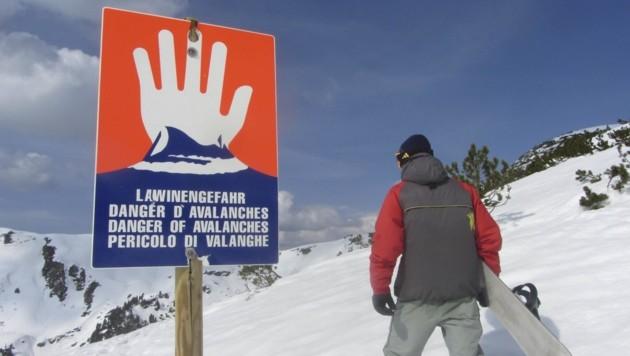 Auf der Turracher Höhe gilt Lawinenwarnstufe drei bis vier. (Bild: elmar gubisch)
