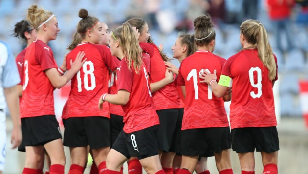 ÖFB-U17-Frauennationalmannschaft (Bild: GEPA )