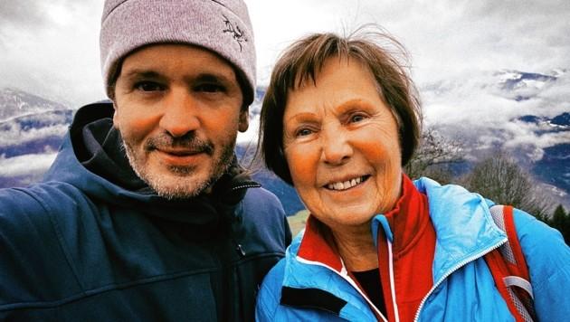 Bergselfie mit Bergwanderführerin Hanni Gratzer: Danke für die Zeit mit dir.