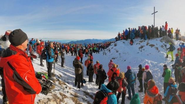 Am vierten Adventsonntag geht es auf den Monte Lussari (Bild: Wallner Hannes/Kronenzeitung)