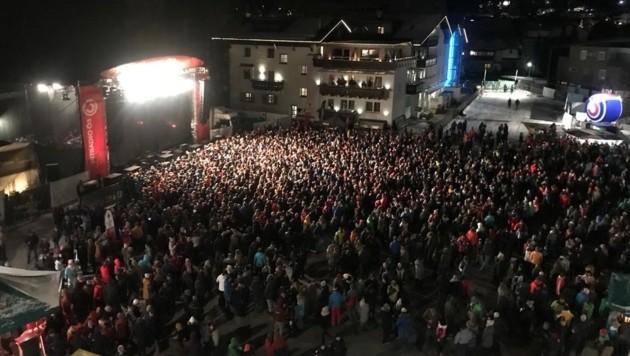 Sarah Connor wurde von ihren Fans in St. Anton am Arlberg gefeiert. (Bild: Claus Meinert)