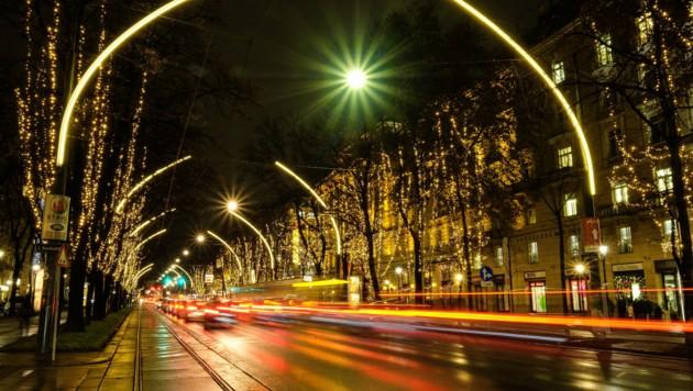 Weihnachtlicher Ring (Bild: Leserreporter/Hans F. )