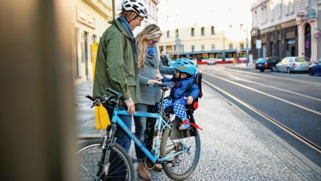 Für Freizeit und Beruf, Stadt und Berg, Transport und Rennen: Es gibt so viele Arten von Fahrrädern! Kein Wunder also, dass Radeln zu den liebsten Hobbys der Österreicher zählt. (Bild: Halfpoint - stock.adobe.com)