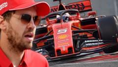 Für Sebastian Vettel und Ferrari wird es wohl wenig Unterschied machen, wie viele freie Trainings es in Imola gibt ... (Bild: APA/AFP/Giuseppe CACACE. APA/AFP/ANDREJ ISAKOVIC)