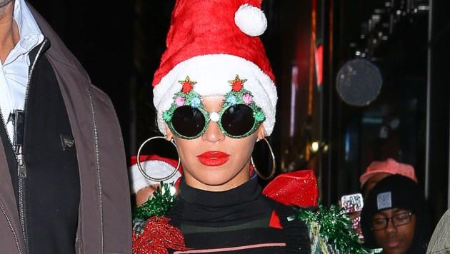 Sängerin Beyonce hat nichts gegen ein wenig Weihnachtskitsch. (Bild: www.PPS.at)