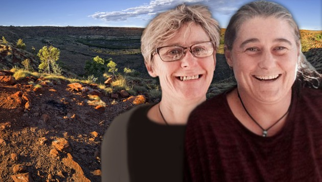 Tamra McBeath-Riley (li.) wurde gerettet - Claire Hockridge (re.) hat als einziges Mitglied der Gruppe nicht überlebt. (Bild: stock.adobe.com, facebook.com, krone.at-Grafik)