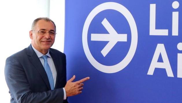 Norbert Draskovits führt die Geschäfte am Linzer Flughafen, der gestern seinen Sommerflugplan vorstellte. (Bild: Flughafen Linz)