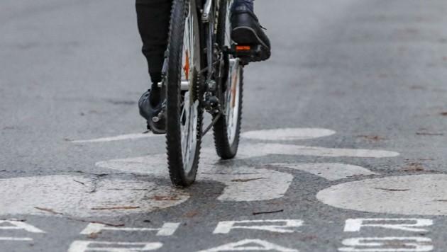 Speziell für die Radwege wird das Budget im kommenden Jahr noch einmal kräftig erhöht. (Symbolbild) (Bild: Tschepp Markus)