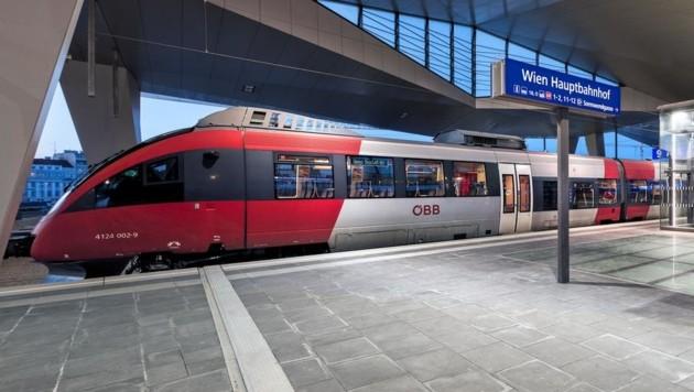 Auf der Stammstrecke sind mehr Züge geplant. (Bild: ÖBB/Roman Bönsch)