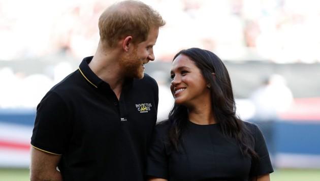 Prinz Harry und Herzogin Meghan (Bild: www.PPS.at)