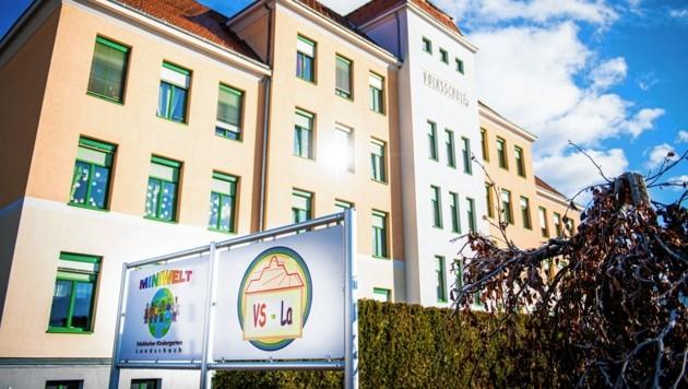 Die Volksschule Landschach in Knittelfeld (Bild: Michael Jurtin)